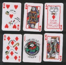 Collectible playing cards Old Geezer cartoons for old folk